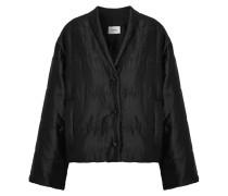 Ling Gesteppte Jacke aus Glänzender Faille