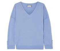 Pullover aus einer Seiden-baumwollmischung