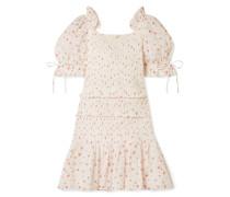 Tina Kleid aus Floral Bedruckter Baumwolle