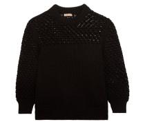 Pullover aus Gerippter Baumwolle