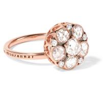 Beirut Ring aus 18 Karat Rosé mit Diamanten