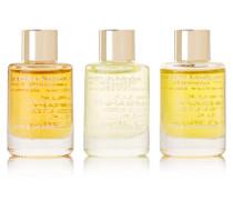 Essential Bath & Shower Oils, 3 X 9 Ml – Set aus Drei Badeölen