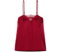 The Sweetheart Top aus Seiden-charmeuse