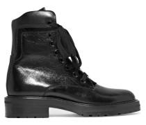 William Ankle Boots aus Glanzleder