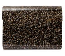 Candy Clutch aus Acryl mit Glitter-finish