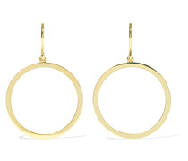 Open Circle Ohrringe aus 18 Karat
