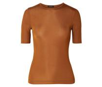 Bound Geripptes T-shirt aus Stretch-jersey