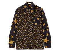 Little Prince Bedrucktes Seidenhemd