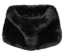 Schlauchschal aus Faux Fur