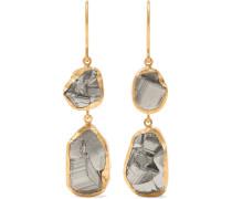 Ohrringe aus 18 Karat  mit Pyriten