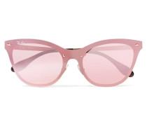 Sonnenbrille mit Cat-eye-rahmen aus Azetat