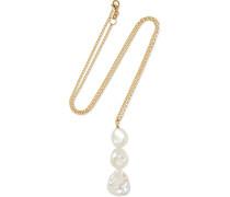 Jane Kette aus 9 Karat  mit Perlen
