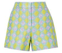 Shorts aus Jacquard