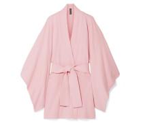 Kimono aus Frottee aus einer Baumwollmischung