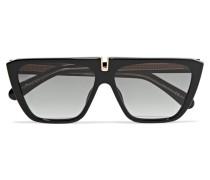 Sonnenbrille mit D-rahmen aus Azetat