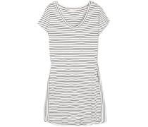 Vega Nachthemd aus Gestreiftem Stretch-jersey