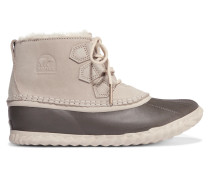 Out'n About Wasserfeste Stiefel aus Nubukleder und Shearling