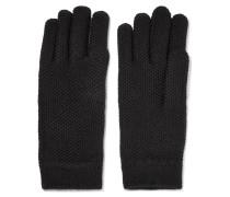 Handschuhe aus Gehäkeltem Kaschmir