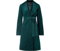 Mantel aus Cord aus einer Baumwollmischung