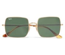 farbene Sonnenbrille mit Eckigem Rahmen