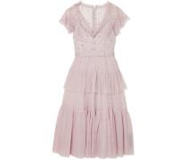 Mirage Gestuftes Kleid aus Tüll