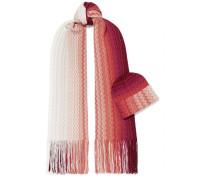 Set aus Schal und Beanie