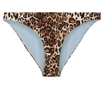 The Jordan Bikini-höschen mit Leopardenprint