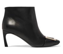 Belle Vivier Trompette Ankle Boots aus Leder