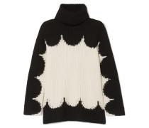 Rollkragenpullover aus Wolle in Oversized-passform