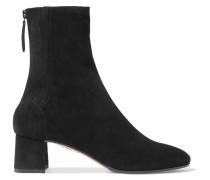 Saint Honoré 50 Sock Boots aus Veloursleder