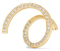 Athene D'or Ohrring aus 18 Karat  mit Diamanten