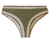 Wren Bikini-höschen mit Häkelverzierung
