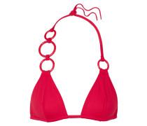 Lunaris Verziertes Triangel-bikini-oberteil