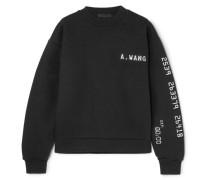Terry Sweatshirt aus Jersey aus einer Baumwollmischung