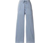 Gestreifte Pyjama-hose aus Voile