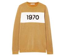1970 Pullover aus Metallic-strick