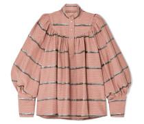 Kasia Bluse aus einer Baumwollmischung