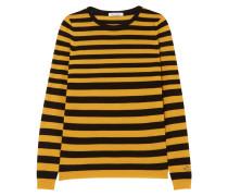 Skinny Minnie Gestreifter Pullover aus einer Woll-kaschmirmischung