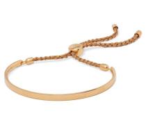 Fiji Geflochtenes Armband mit -vermeil