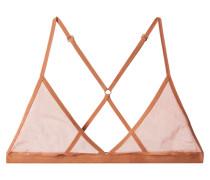 Triangel-bh aus Tüll aus Stretch-pima-baumwolle