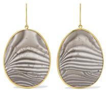 Ohrringe aus 18 Karat  mit Achaten