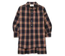 The Painter's Smock Hemd aus Kariertem Baumwoll-flannel