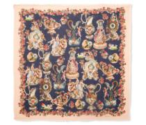 Bedrucktes Tuch aus einer Kaschmir-seidenmischung