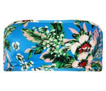 Bandeau-bikini-oberteil mit Floralem Print