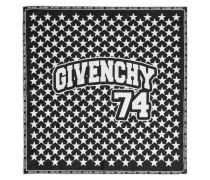 Bedrucktes Tuch aus Seiden-twill – 50 X 50