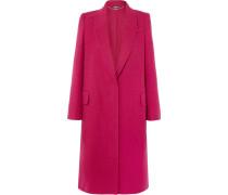 Mantel aus einer Woll-kaschmirmischung