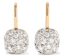 Nudo Ohrringe aus 18 Karat  mit Diamanten