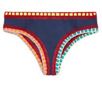 Tasmin Bikini-höschen mit Häkelbesatz