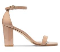Nearlynude Sandalen aus Lackleder