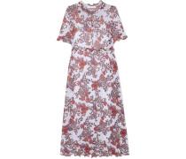 Kleid aus Stretch-gaze